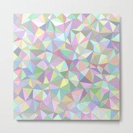 Happy triangles Metal Print