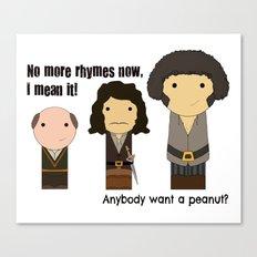 Anybody want a peanut? Canvas Print
