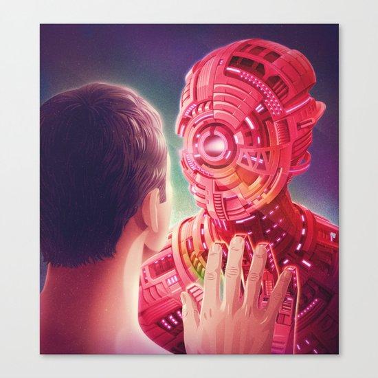 Interface Canvas Print