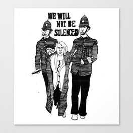 We Will Not Be Silenced III Canvas Print