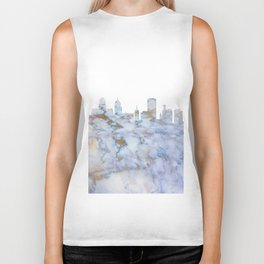 Buffalo New York Skyline Biker Tank