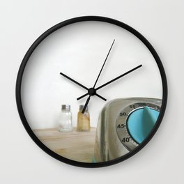 retro timer Wall Clock