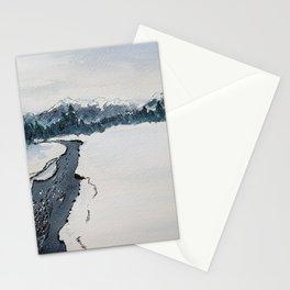 Winter, Kananaskis Country Stationery Cards