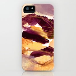 abstract painting XI iPhone Case
