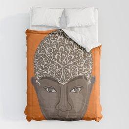 brown visage Comforters