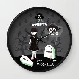 Día de la Muerte Wall Clock