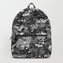 Silver Gray Popular Multi Camo Pattern Backpack