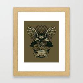 Secrets Are Dangerous Framed Art Print