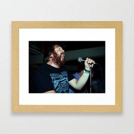 Lifestory: Monologue Framed Art Print