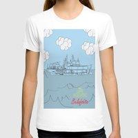 zissou T-shirts featuring Zissou Boat by Jarom Ward