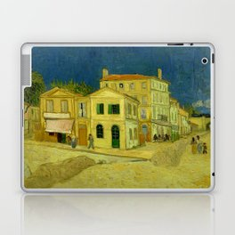 Vincent Van Gogh - The Yellow House Laptop & iPad Skin