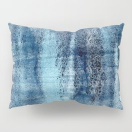 Turquoise & Dark Grey Abstract Pillow Sham