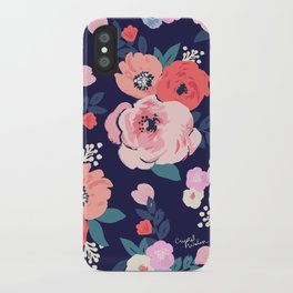 Aurora Floral iPhone Case