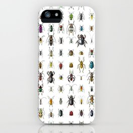 Beetlemania / Get your entomology on! iPhone Case