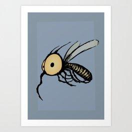 Paquito Mosquito Art Print