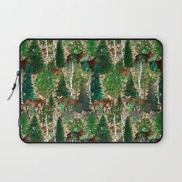 Woodland Wildlife Laptop Sleeve