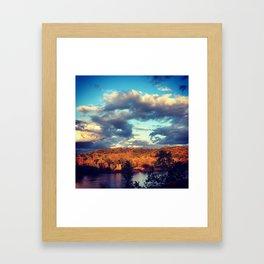 Wisconsin River Framed Art Print