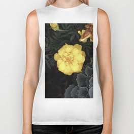 The Soft Yellow Flower (Vintage) Biker Tank
