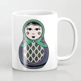 Ms. Matryoshka #1 Coffee Mug