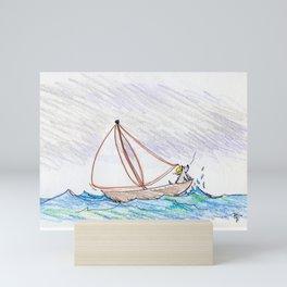 Skooter Sails Mini Art Print