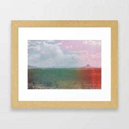 Broken Dust Framed Art Print