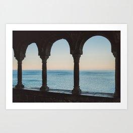 A window over heaven Art Print
