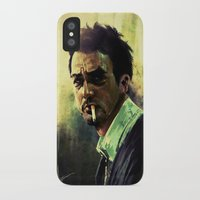 smoking iPhone & iPod Cases featuring Smoking by Marc Hampson