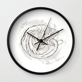 cat cosmos Wall Clock