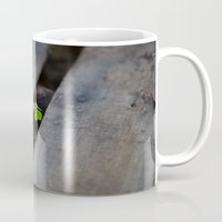 clover Mugs featuring Clover by Dimind