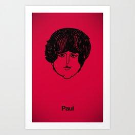 Paul. Art Print