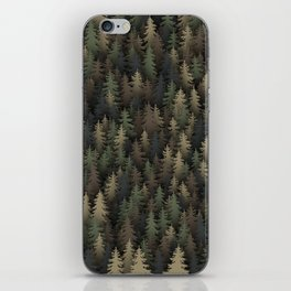 Forest camouflage iPhone Skin