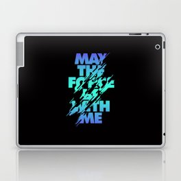 Jedi Mantra - May the Force be with you Laptop & iPad Skin