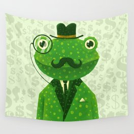 Mr. Frog Wall Tapestry