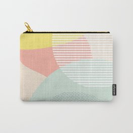 Lost In Shapes III #society6 #abstract Carry-All Pouch