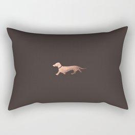 Elegant Weiner Rectangular Pillow
