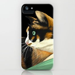 My lovely cat iPhone Case