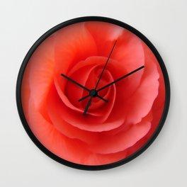 Rose Delicate Wall Clock