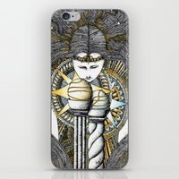 valar morghulis iPhone & iPod Skins featuring Lady of light by Anca Chelaru