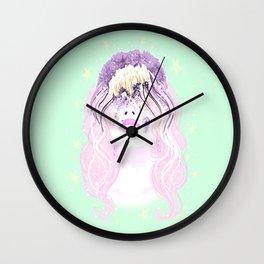 Broken head Wall Clock