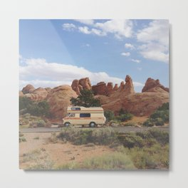 Rock Camper Metal Print