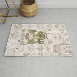 The Serpent of Arabia  Rug