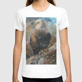 Bald Eagle on Birch T-shirt