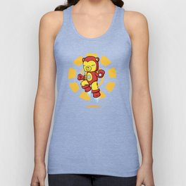 Iron Bear Unisex Tank Top
