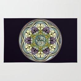 World Within Mandala Rug