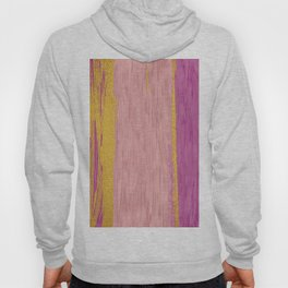 Colored Brush with Gold Foil 02 Hoody