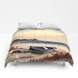 Mull Of Kintyre Scotland Comforters