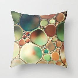 Pastel Abstraction Throw Pillow