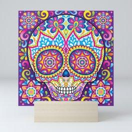 Sugar Skull (Simon) Mini Art Print