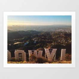 The Sign Art Print
