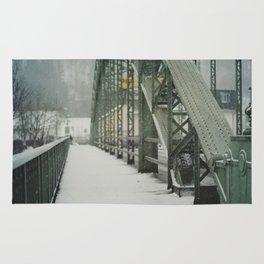 snow in wels (6) Rug